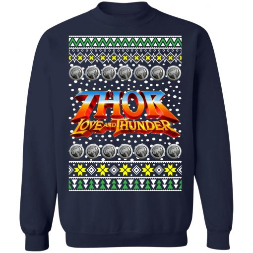 Thor Logo Ugly Christmas Sweater