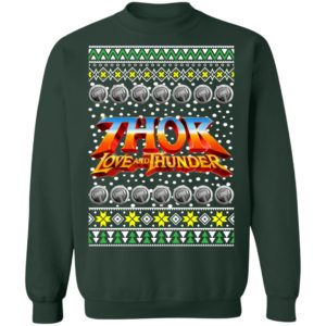Thor Logo Ugly Christmas Sweater