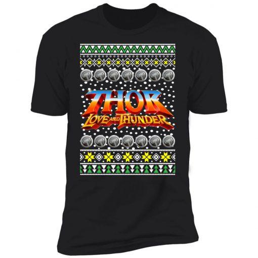 Thor Logo Ugly Christmas