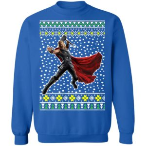 Thor Action Ugly Christmas Sweater