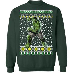 The Incredible Hulk Ugly Christmas Sweater