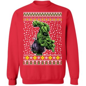 The Incredible Hulk Action Ugly Christmas Sweater