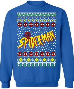 Spiderman Ugly Christmas Sweater