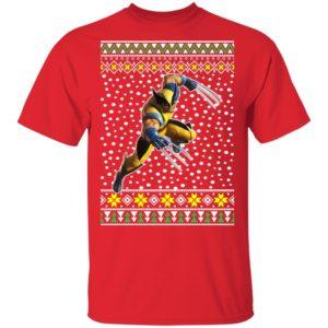 Logan Wolverine Ugly Christmas