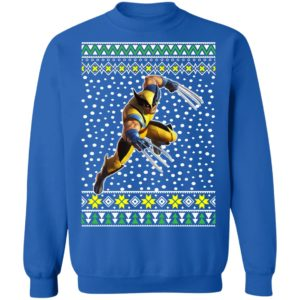 Logan Wolverine Ugly Christmas Sweater
