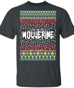 Logan Wolverine Logo Ugly Christmas