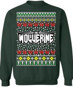 Logan Wolverine Logo Ugly Christmas Sweater