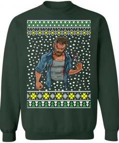 Logan Wolverine Bleeding Ugly Christmas Sweater