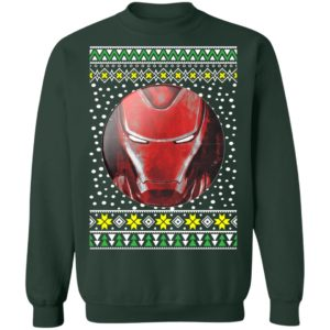Iron Man Face Ugly Christmas Sweater