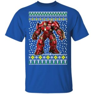 Iron Man Armor Ugly Christmas