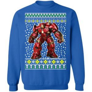 Iron Man Armor Ugly Christmas Sweater
