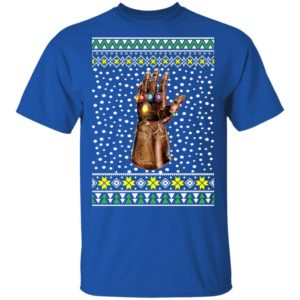 Infinity Hand Finger Thanos Gauntlet Ugly Christmas