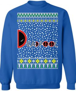Deadpool Logo Ugly Christmas Sweater