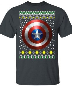 Captain America Shield Ugly Christmas