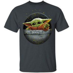 Cute Force Shirt - Mandalorian Baby Yoda T-Shirt