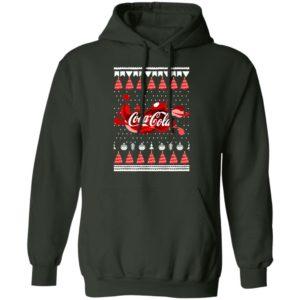 Coca Cola Funny Ugly Christmas Tree hoodie