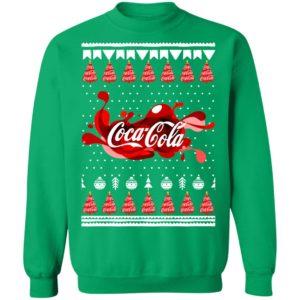 Coca Cola Funny Ugly Christmas Tree Sweatshirt