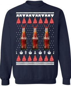 Coca Cola Bottles Funny Ugly Christmas Tree Sweatshirt