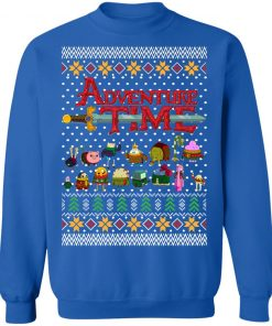 Adventure Time Sweaters Ugly Christmas Sweatshirt