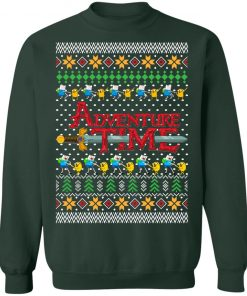 Adventure Time Ugly Christmas Shirt Sweater