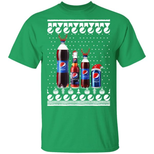 Pepsi Bottles and Can Funny Ugly Christmas