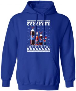 Pepsi Bottles and Can Funny Ugly Christmas hoodie