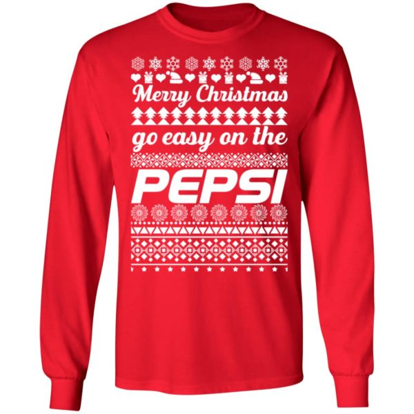 Merry Christmas Go Easy On The Pepsi Ugly Christmas ls