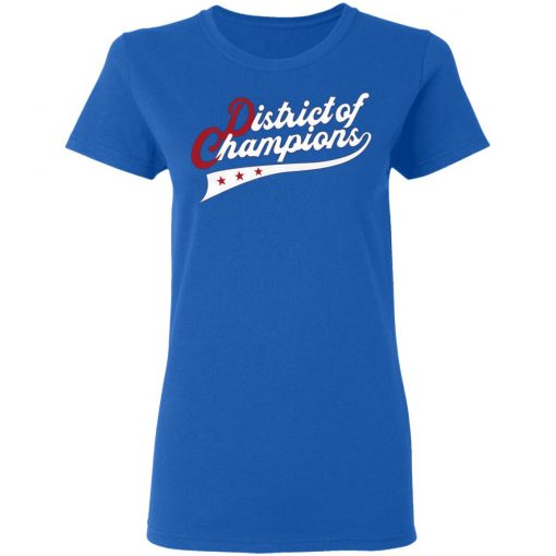 Nationals District Of Champions shirt