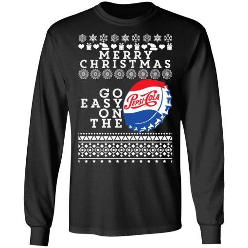 Merry Christmas Go Easy On The Pepsi Cola Ugly Christmas