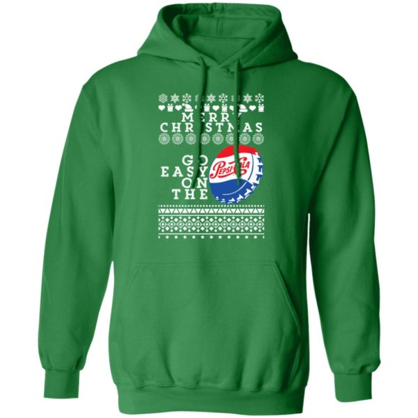 Merry Christmas Go Easy On The Pepsi Cola Ugly Christmas hoodie