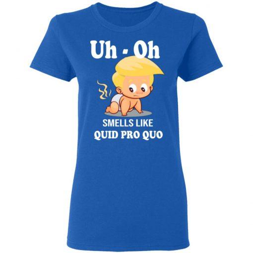 Funny Anti Trump Baby Quid Pro Quo Impeachment shirt