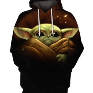 Baby Yoda Star Wars 3D Print Hoodie