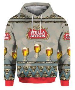 Stella Artois Beer 3D Print Ugly Christmas hoodie