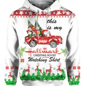 Snoopy Hallmark 3D Print Ugly Christmas hoodie