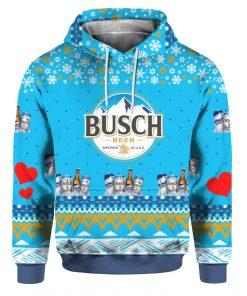Busch Beer 3D Print Ugly Christmas hoodie