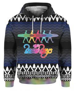 The Beach Boys Band 3D Print Ugly Christmas hoodie