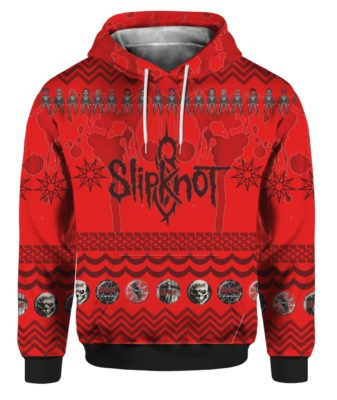 Slipknot Band 3D Print Ugly Christmas hoodie