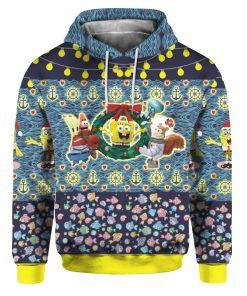 Spongebob 3D Print Ugly Christmas hoodie