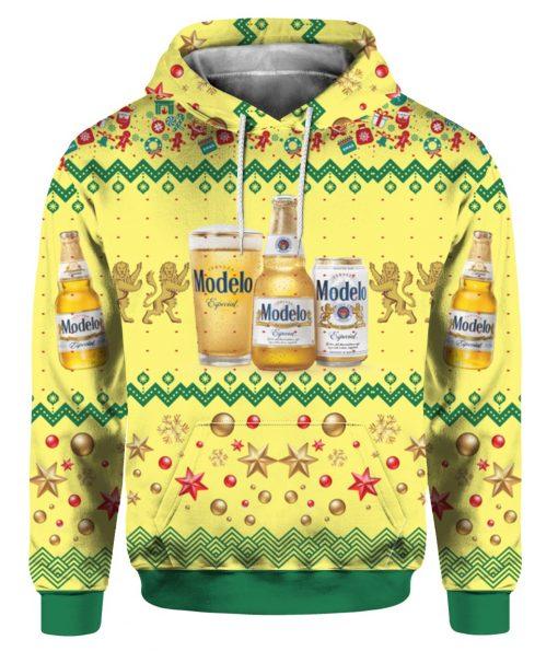 Modelo Especial Beer Bottles 3D Print Ugly Christmas hoodie
