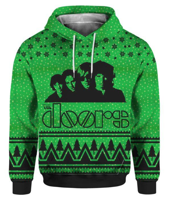 The Doors Band 3D Print Ugly Christmas hoodie