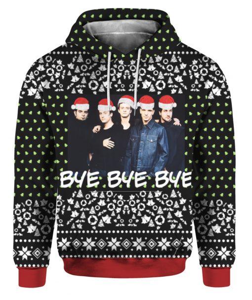 Nsync Band 3D Print Ugly Christmas hoodie