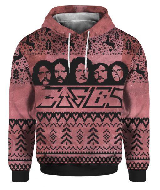 Eagles Band 3D Print Ugly Christmas hoodie