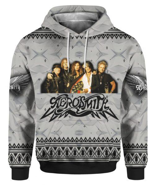 Aerosmith Band 3D Print Christmas Ugly hoodie