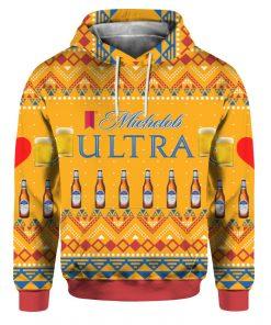 Michelob Ultra Beer Bottles 3D Print Ugly Christmas hoodie