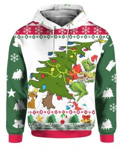 Grinch Stole Christmas 3D Print Ugly hoodie