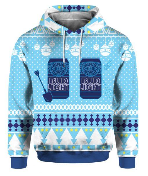 Bud Light Can Beer 3D Print Ugly Christmas hoodie