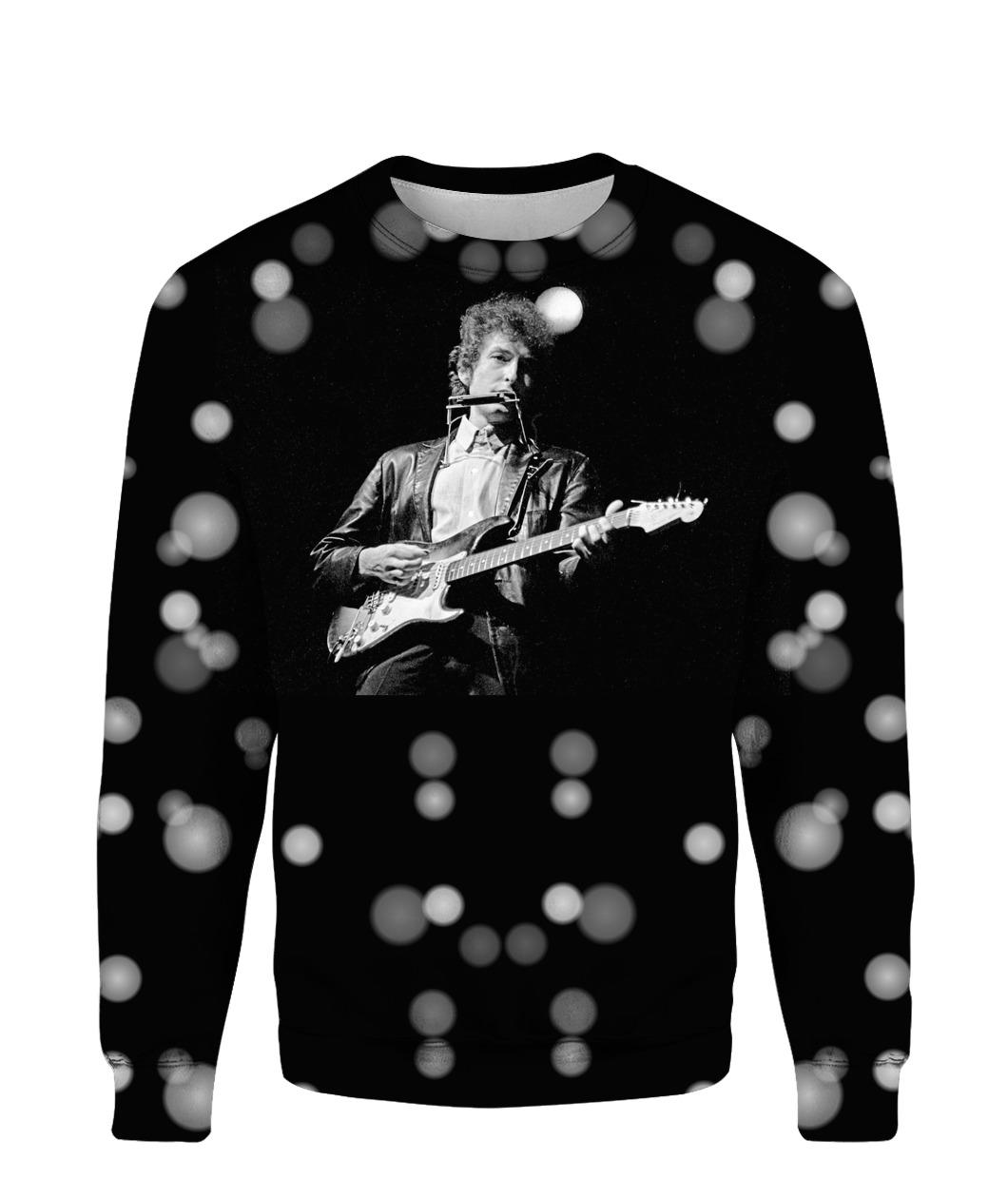 Bob Dylan Robert Allen Zimmerman Rock 3d Print Hoodie