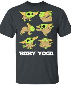 Baby Yoda Doing Yoga The Mandalorian Shirt