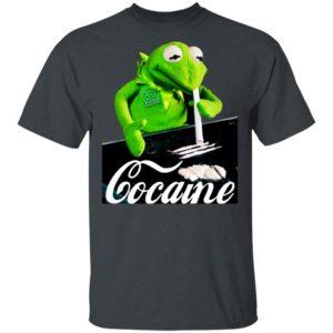 Kermit The Frog Doing Coke T-Shirt