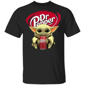 Baby Yoda Hug Dr Pepper 1985 Shirt